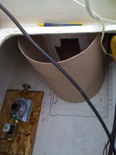 Building a Propane Locker for your boat • Ragged Sails